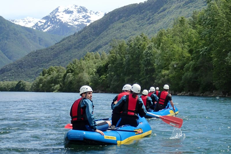 Fun Rafting in Ticino