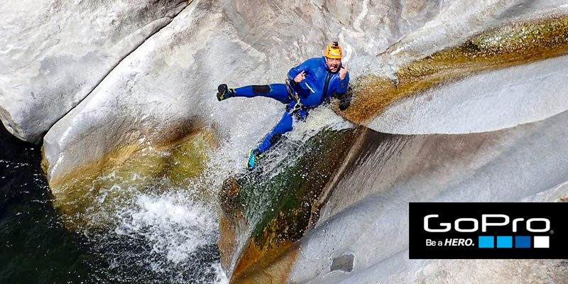 Ticino Adventures Hire, Rent a GoPro camera