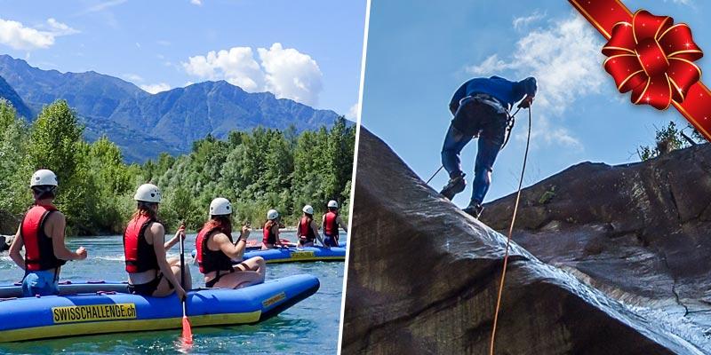 Ticino Adventures gift voucher gutscheine