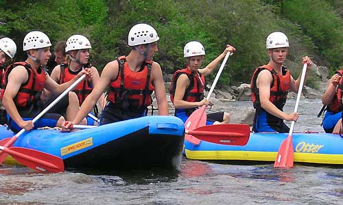 Ticino Adventures Rafting Canoe Trips