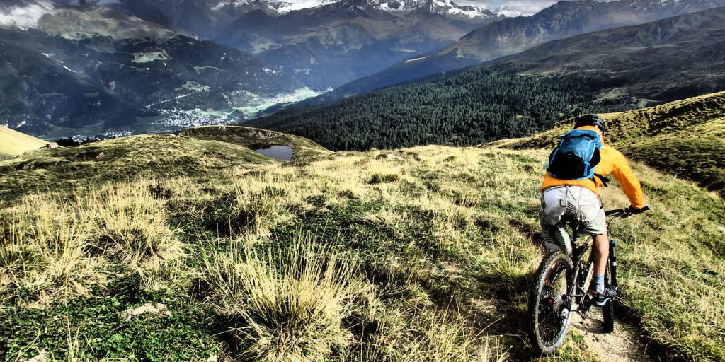 downhill mountain biking in ticino