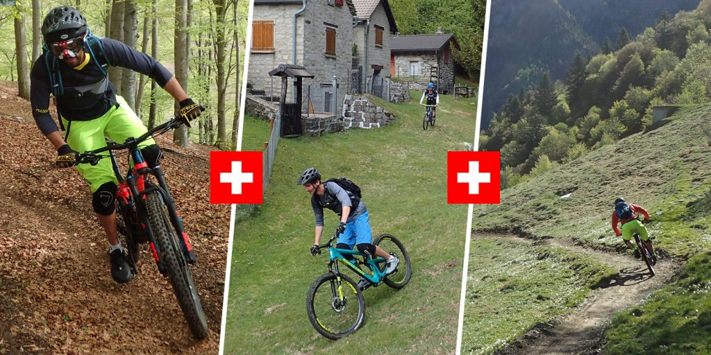 riding the best trails in ticino