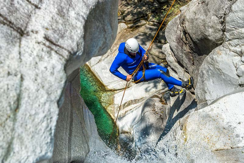 Canyoning Switzerland