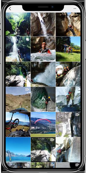 Ticino Adventures Instagram